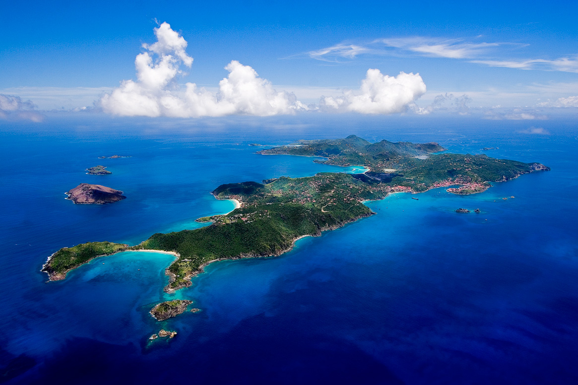 Saint Barth in FWI.