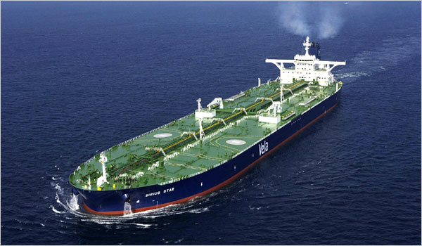 Sirius Star - US $3.2 million
