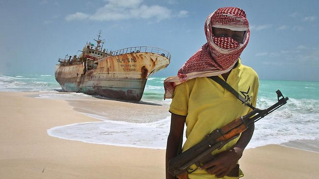 In a recent visit to the pirate port of Hobyo and other pirate ports north of Mogadishu but west of Puntland, a news team with the Associated Press snapped a picture of this Taiwanese trawler, now beached and abandonned after its crew was ransomed after lengthy negotiations. The journalists were able to come back with this picture only because the clan elder wanted the journalists to report that they had piracy under control. Otherwise a pirate gang would surely have kidnaped the journalists and held them for ransom. The message intended for the outside world we must surmise is meant to position Hobyo and other pirate ports to get foreign aid that is now almost exclusively focused on Mogadishu. This visit to Hobyo resulted in very little reporting about why pirate attacks had dropped off, other than to note almost in passing that credit had dried up for new missions. This was actually the real nugget from the trip. Up until now, Somali pirates have paid back investors, creditors, pirate chief and their hands, and then looked to lenders for the capital needed to launch the next mission. When credit started to dry up in the past few months for many reasons, the missions became rarer. This is not an irreversible situation, and so we would not be surprised to see in the near or not so distant future a return of more attacks. The pirates are down but by no means out.